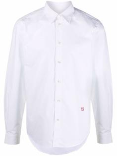 MSGM рубашка с длинными рукавами и вышитым логотипом