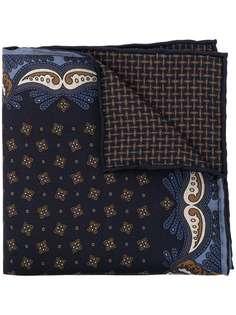 Brioni платок-паше с принтом