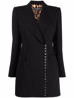 Dolce & Gabbana шерстяное пальто
