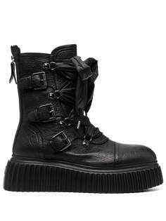 AGL ботинки на шнуровке