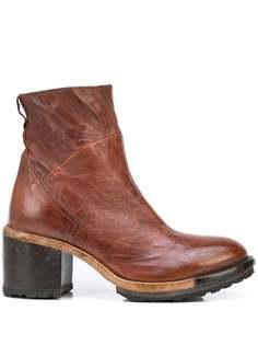 MOMA ботинки с эффектом кракле