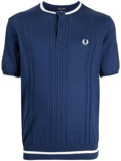 FRED PERRY трикотажная рубашка хенли