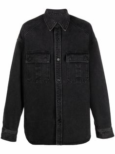 Juun.J джинсовая рубашка на пуговицах