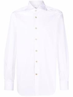 Kiton рубашка с длинными рукавами