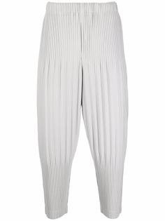 Homme Plissé Issey Miyake зауженные плиссированные брюки