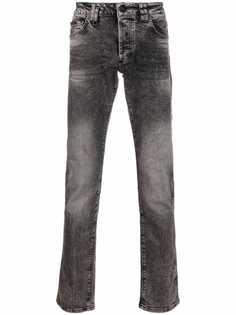 Philipp Plein джинсы скинни с нашивкой-логотипом