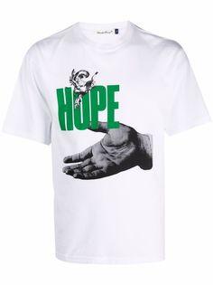 UNDERCOVER футболка с принтом Hope