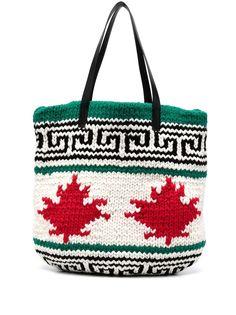 Dsquared2 сумка-тоут с логотипом Maple Leaf