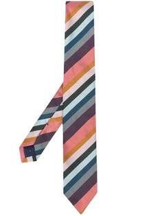 PAUL SMITH diagonal-stripe silk tie