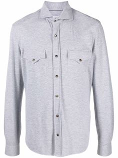 Brunello Cucinelli рубашка с длинными рукавами