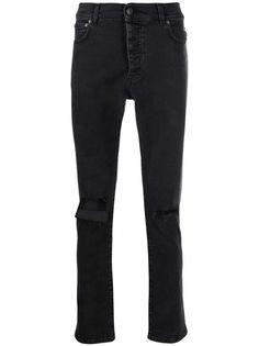 MSGM джинсы скинни средней посадки