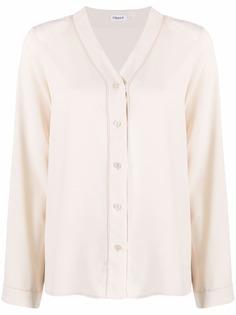 Filippa K блузка Vita с V-образным вырезом