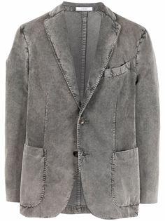 Boglioli однобортный пиджак с заостренными лацканами
