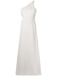 Rachel Gilbert платье макси асимметричного кроя