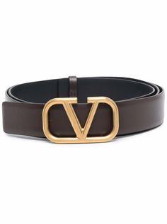 Valentino Garavani ремень с пряжкой VLogo Signature