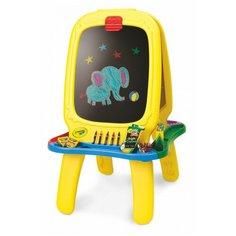 Многофункциональный мольберт Crayola (5090-01) желтый Grown Up