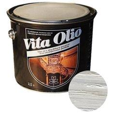 Масло-воск Живая краска VITA OLIO для внутренних работ с твердым воском, береза, 2.5 л