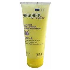 """""""BES крем-гель SPECIAL EFFECT HAIR GRAFFITI: № 16, для вьющихся волос, 200 мл, придает волосам эластичность и блеск / профессиональная Итальянская косметика"""""""