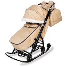 Санки-коляска Pikate Снеговик