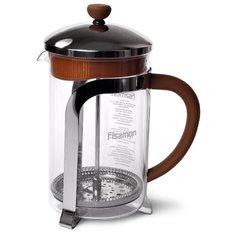Чайник Fissman CAFE GLACE заварочный 600 мл с поршнем (стеклянная колба) (9055)