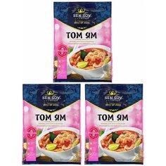 Основа для супа Том ям Tom yum Sen Soy Premium 3 штуки по 80 гр