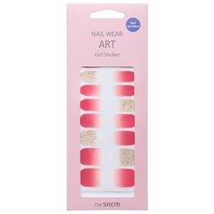 The SAEM Nail Наклейки для ногтей Nail Wear Art Gel Sticker 02 (1 шт)