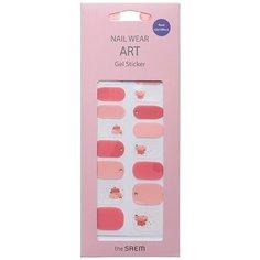 The SAEM Nail Наклейки для ногтей Nail Wear Art Gel Sticker 06 (1 шт)