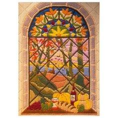 AL78463 Набор для вышивания Anchor Осень в окне 21*15 см