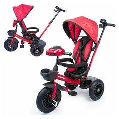 Велосипед трехколесный со светом и звуком, красный, BL0098 Safari