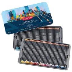 Набор карандашей Derwent Procolour 72 цвета, металлическая коробка 2302508