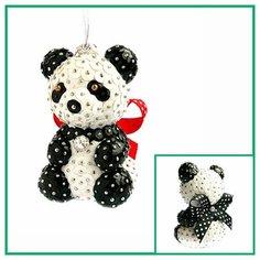 Набор для творчества - елочная игрушка Панда 15,5 см FS-100 ФИЛИГРИС