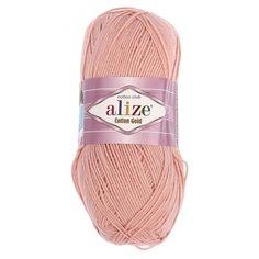 """Пряжа ALIZE """"Cotton Gold"""", 55% хлопок, 45% акрил, 330 м*100 г, 161 пудра"""