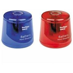 Точилка для карандашей электрическая Berlingo RoundX, питание от батарейки, цветная (BEs_37004)