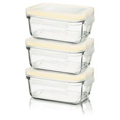 Набор контейнеров Glasslock GL-543 детская серия YumYum (150ml x 3)