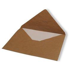 Конверты Комус Крафт, 290*390 мм, треугольные, 500 штук