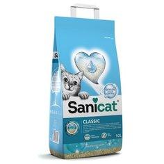 Sani cat впитывающий антибактериальный наполнитель с активным кислородом и ароматом марсельского мыла, 6,000 кг Sanicat