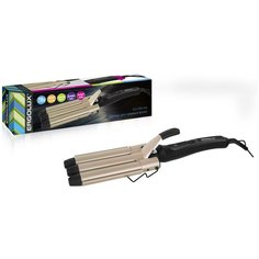 Щипцы для укладки волос ERGOLUX ELX-CI04-C64 черный/золото