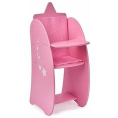 Манюня Diamond Star Стульчик для кормления с мягким сиденьем (74319)