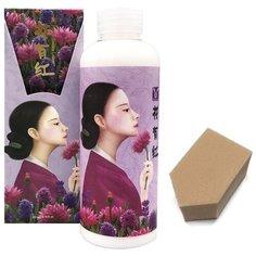 ELIZAVECCA HWA YU HONG Лосьон для лица с цветочным экстрактом, 200мл + спонж