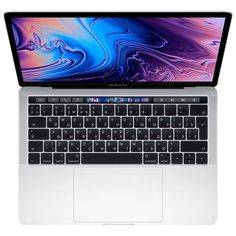 "Ноутбук Apple MacBook Pro 13 Mid 2019 (Intel Core i5 2400MHz/13.3""/2560x1600/8GB/512GB SSD/Intel Iris Plus Graphics 655/macOS) MV9A2RU/A, серебристый"