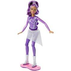 Интерактивная кукла Barbie с ховербордом Космическое приключение, 30 см, DLT23