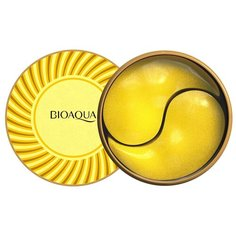 Bioaqua Гидрогелевые патчи для области вокруг глаз с коллагеном и золотом, 60 шт.