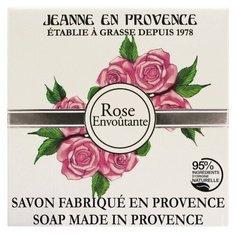 "Jeanne En Provence Твёрдое мыло ""Пленительная роза"", 100 гр"