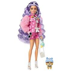 Кукла Barbie Экстра Милли с сиреневыми волосами, 30 см, GXF08
