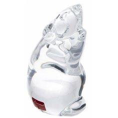 """Статуэтка """"Крыса"""" в родной коробке, хрусталь, фирма """"Baccarat"""", Франция, 2000-2020 гг."""