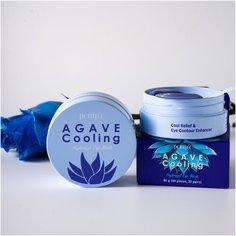 Petitfee Патчи гидрогелевые охлаждающие с экстрактом агавы Agave cooling hydrogel eye mask, 60 шт.