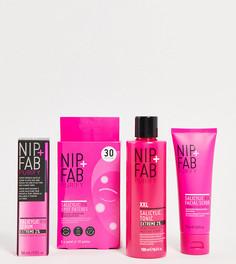 Эксклюзивный набор средств по уходу за кожей NIP+FAB x ASOS Salicylic Exfoliate + Purify Regime (скидка -41%)-Бесцветный