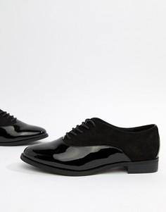 Броги на шнуровке Miss KG-Черный