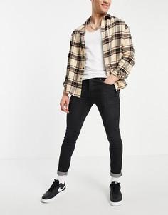Черные зауженные джинсы Bench-Черный цвет