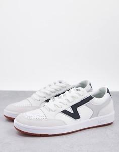 Белые кроссовки Vans Lowland CC Staple-Белый